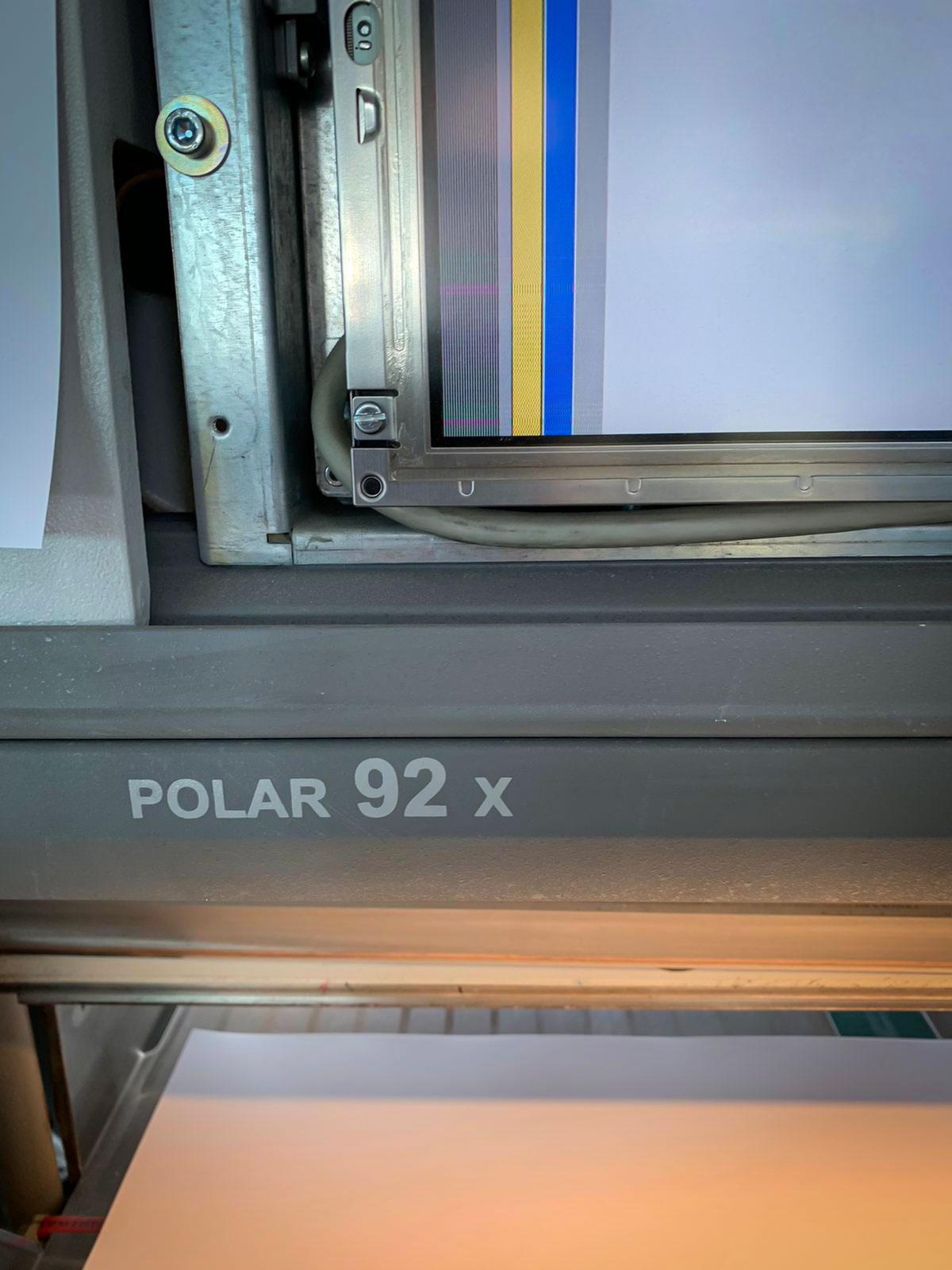Polar 92 Schneidmaschine